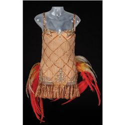 Sheree North dance costume designed by Charles Le Maire from The Best Things in Life Are Free