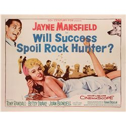Will Success Spoil Rock Hunter? original U.S. half-sheet poster