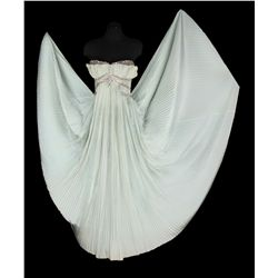 Marilyn Monroe strapless pale green silk Empire gown with rhinestone trim from Let's Make Love