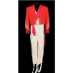 Jimmy Durante ringmaster outfit designed by Morton Haack from Billy Rose's Jumbo