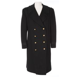 "Richard Crenna ""Capt. Collins"" wool Navy pea-coat designed by Renie from The Sand Pebbles"