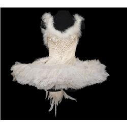 Barbra Streisand white ballerina costume and headpiece designed by Irene Sharaff from Funny Girl