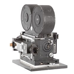 Panavision Mitchell 65mm AC rack-over camera used for SFX photography in 2001: A Space Odyssey