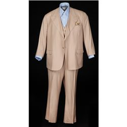 Marlon Brando 3-piece pinstripe suit with shirt & accessories from The Score