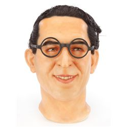 Harold Lloyd wax head and hands
