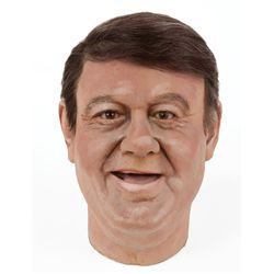 Buddy Hackett wax head