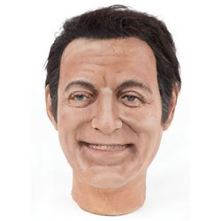 Tony Bennett wax head