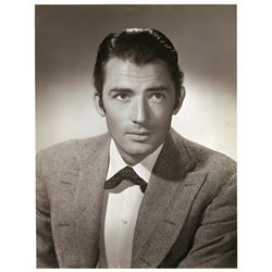 Collection of (14) vintage oversize publicity photos of male stars from Hollywood's Golden Age