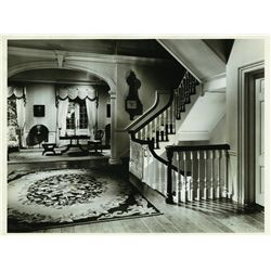 Seven original oversize MGM set continuity stills from The Gorgeous Hussy by Clarence Sinclair Bull