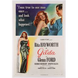 Gilda original U.S. one-sheet poster style 'A' on linen