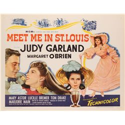 Meet Me in St. Louis reissue U.S. half-sheet poster