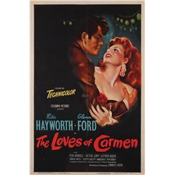 The Loves of Carmen original U.S. one-sheet poster