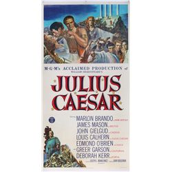 Julius Caesar original U.S. 3-sheet poster on linen
