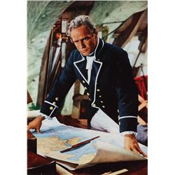 Mutiny on the Bounty original set of (8) 1-folio special display posters for the 1962 version