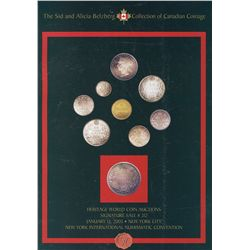 """Heritage World Coin Auctions – January 2003 – """"The Sid and Alicia Belzberg Collection of Canadian Co"""