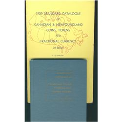 The 1959 Standard Catalogue of Canadian & Newfoundland Coins, Tokens and Fractional Currency, by J.E