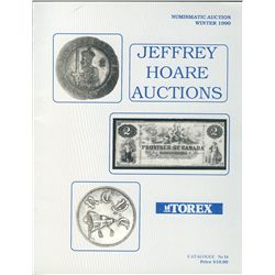 Group of Jeffrey Hoare Auction catalogs: Winter 1990, June 1991, July 1991 (2 copies),  October 1991