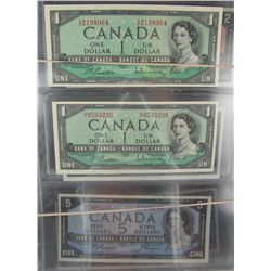 1954 $1 to $1000.  All modified notes EF to UNC.  Includes $1(2), $2(2), $5, $10, $20(2), $50, $100