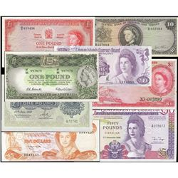British Commonwealth Banknote Collection, Queen Elizabeth Series. Lot includes 209 different notes o