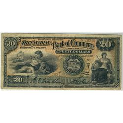 The Canadian Bank of Commerce 1912 $20 #203499 CH-75-14-42 PMG CH F15.