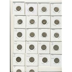 US decimal lot. Includes 1882, 1901, 1902 1¢, 1911-1958 Wheat cents(40), 1959 to 2004 1¢(207), 1902-