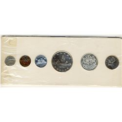 RCM 1954 Proof Like Set. All white coins.