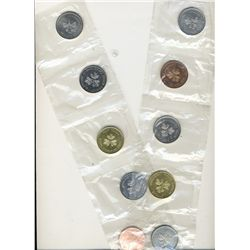 RCM 1983 $1 Test Token set. Includes 10 pcs as described in 2011 Charlton Standard Catalogue for Can