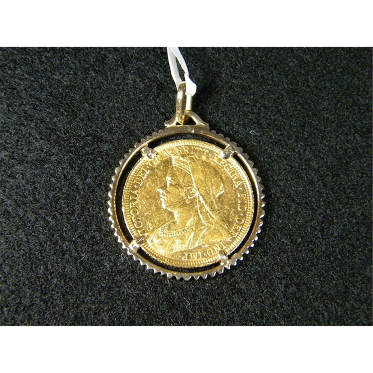 1895 gold coin pendant aloadofball Image collections