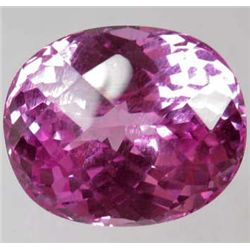 33.00 CTS HOT PINK TOPAZ - AAA