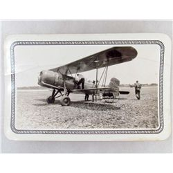 "RARE 1930 AVIATION PHOTO - ""SUPER MAIL WING"""