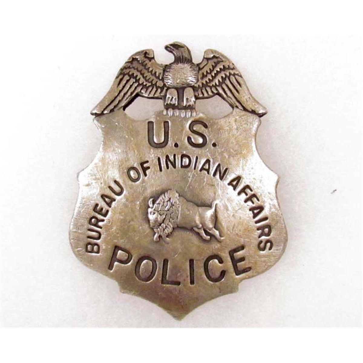 Bureau of indian affairs police badge for Bureau of indian affairs