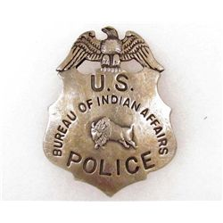 BUREAU OF INDIAN AFFAIRS POLICE BADGE