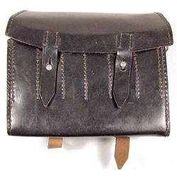 GERMAN  NAZI LEATHER FLAIR POUCH HOLDER