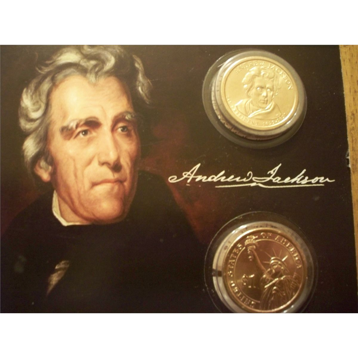 andrew jackson 1 I assume you're talking about scott #1206 a sheet of 100 typically sells on ebay for around $500, so 5 cents each if i had just a few, i would use them for postage.