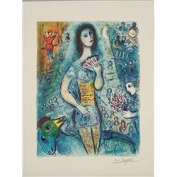 Marc Chagall : Circus Dancer Art Print