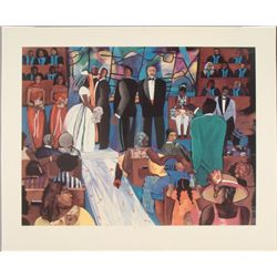 Gigi Boldon : The Objection Wedding Art Print