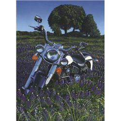 Harley Motorcycle Art FIELD OF DREAMS Scott Jacobs