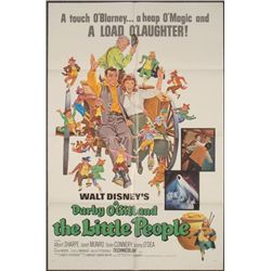 Darby O'Gill & Little People Orig Disney Movie Poster