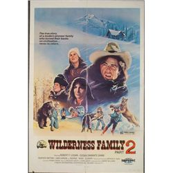 Wilderness Family 2 Original 1 Sheet Movie Poster 1978