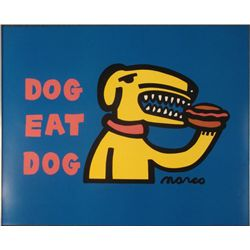 Peter Marco : Dog Eat Dog Art Print
