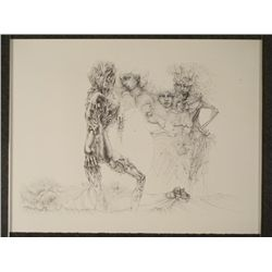 Hans Bellmer Surrealistic Art Print Erotic Nude Woman
