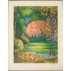Torrez Signed Art Print Magical Enchanted Forest