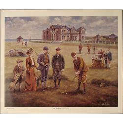 Lee Dubin : St. Andrews Golf Course Art Print