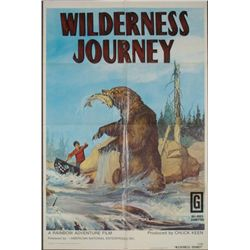 Wilderness Journey Original 1 Sheet Movie Poster 1972