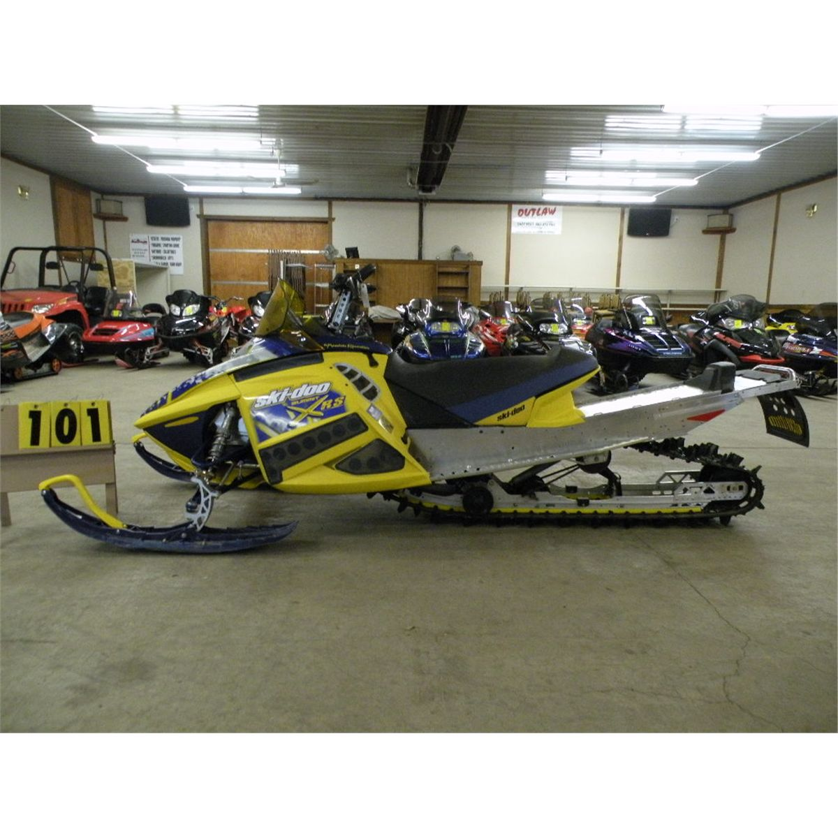2007 Ski Doo Summit X Rs 800 Vin 2bpscr7a77v000409
