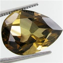 13.16ct Smokey Quartz Pear (GEM-29572E)