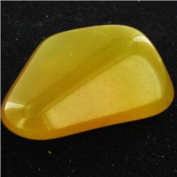 22.15ct Yellow Opal Freeform Cabochon (GEM-34359)