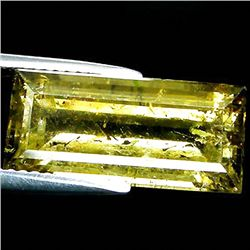 8.33ct  Emerald Cut Yellow Green Tourmaline (GEM-35242)