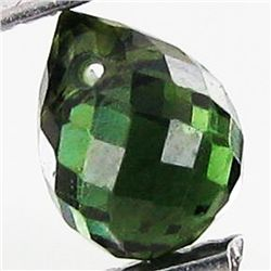 1.74ct Green Tourmaline Briolette (GEM-40620)