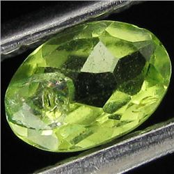 0.4ct Green Peridot Oval (GEM-41265)